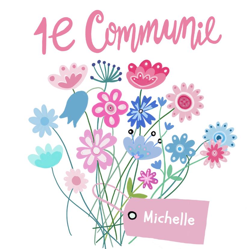 communie uitnodigingen