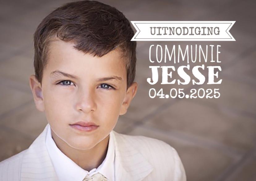 uitnodigingen communie